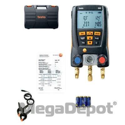 Testo 0563 1550 550 Digital Manifold Kit