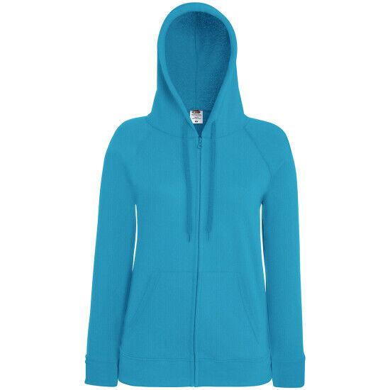 Kapuzenjacke Sweatshirtjacke Hoody Kapuze Taschen in 14 Farben Gr.XS-2XL