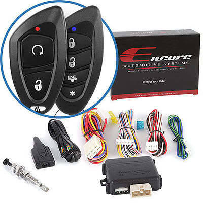 Encore E5 2-Way Car Remote Start Keyless Entry Vehicle Security System