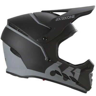 74fd9faa Sixsixone 661 Reset Fullface Full Face DH Downhill MTB Bike Helmet Black XL