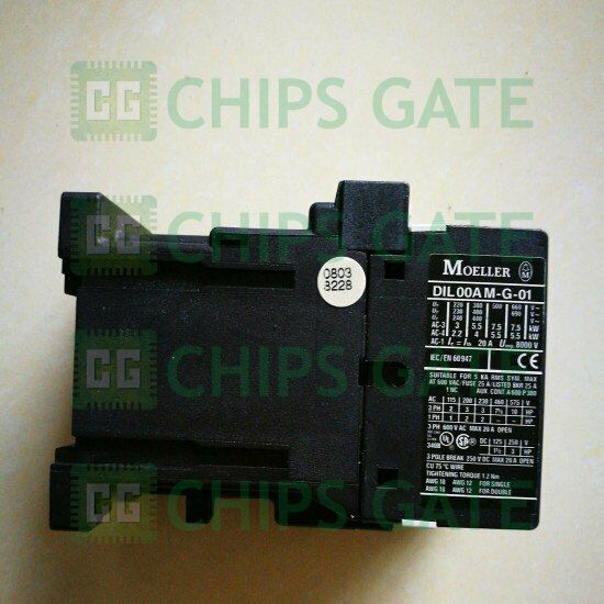 1PCS New Eaton Moeller DIL00AM-G-01 24VDC Contactor Fast Ship
