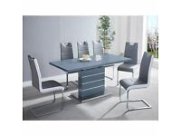 ❗❗ Best Dining Set On Gum Tree❗ Marble Top Coffee Table With Comfortable Plush Velvet Chairs❗