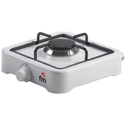 Hornillo Placa de Gas FM HG100 1 Fuego Desmontable Cocina de Alta...