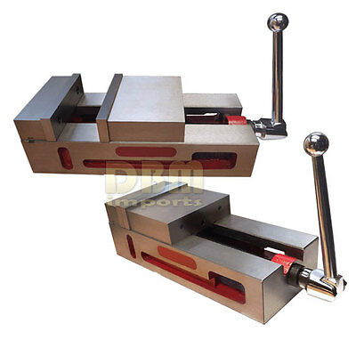 6 Super-lock Precision Vise Cnc .0004 Nccnc Milling Machine Vice Clamps