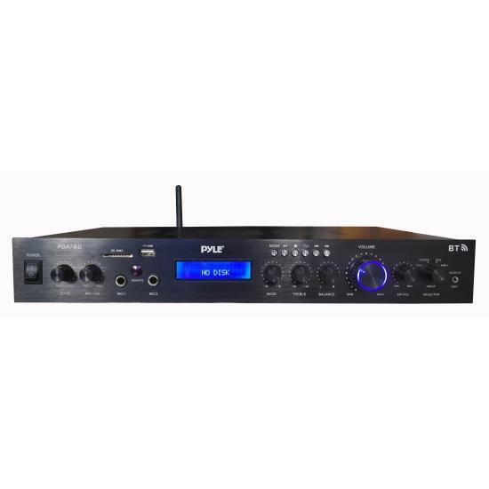 Pyle PDA7BU Home Theater Amplifier Audio Receiver Sound Syst