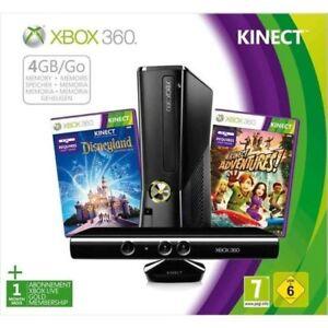 Xbox 360 avec kinect et une vingtaine de jeux