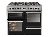 Beko BDVF100 Dual Fuel cooker