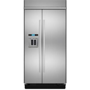 42-inch Jenn-Air Refrigerator, Side-by-Side, Stainless, Showroom