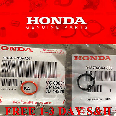 Genuine OEM Honda Power Steering O-ring Set of 2 Civic Accord CRV more Free
