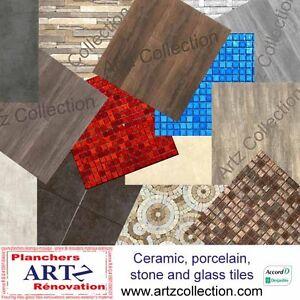 Céramique, Porcelaine, pierres et Mosaïques Tuiles à planchers T