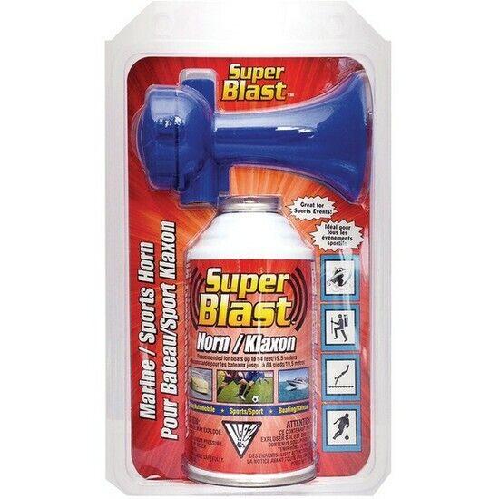 Super Blast SB8-018-016 Air Horn Push-Button Operation 8oz
