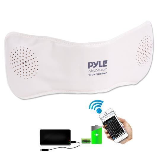 PPSP18 Bluetooth Pillow Speaker w/Built-in Speakers for Wire