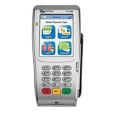 Verifone Vx6803g Wirelessemvchip Cardnfccontactless Unlocked Wwarranty