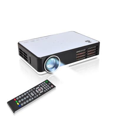 Pyle Portable Home Theater Projector with WiFi Wireless Mult