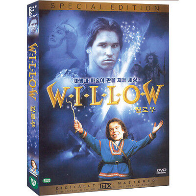 WILLOW, 1988 (DVD,All,Sealed,New) Val Kilmer