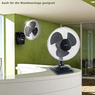 Tisch Wand Ventilator Raumkühler Windmaschine Oszillierend Lüfter AEG VL 5528