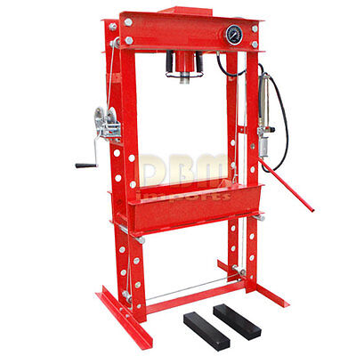 Heavy Duty 45 Ton Air Hydraulic Floor Shop Press W Guage