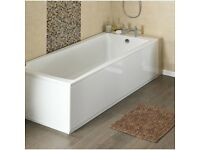 MDF PREMIER WHITE BATH PANEL - 1500mm BRAND NEW!