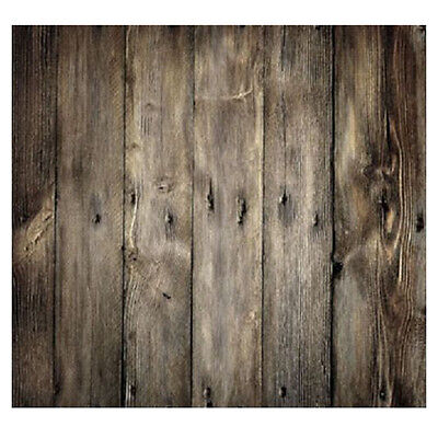 Wood Floor Wall Decoration Background 5x7ft Portrait Studio Photo Backdrop ED