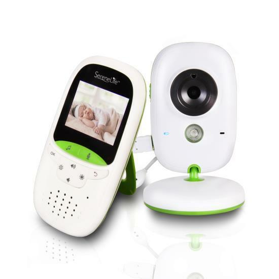 SereneLife Wireless Baby Monitor System - Camera & Video Chi