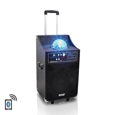 PSUFM1049A 600W Bluetooth Powered Speaker USB/SD/AUX FM Radio and DJ Lights