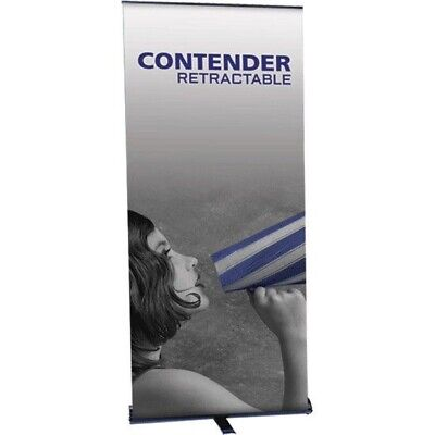 Tsj Contender Retractable Trade Show Banner Stand