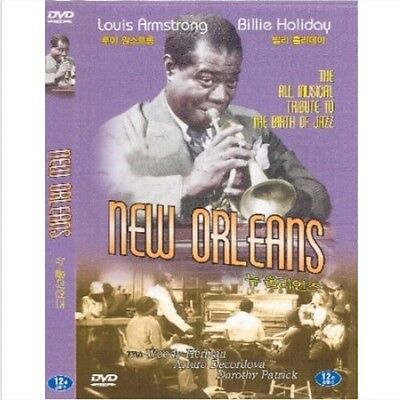 New Orleans (1947) DVD (Sealed) - Louis Armstrong, Billie Holiday
