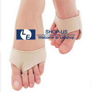 New Metatarsal Gel Pads Forefoot Insoles Sore Ball of Foot Pain Relief Ships