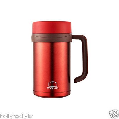 Lock & Lock New Basic Outdoor Mug Cup  Camping Climbing Office Red Black 500ml