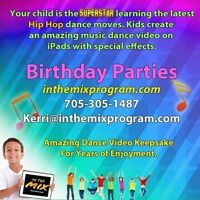 Best kids birthday parties- we bring the dance party to you!