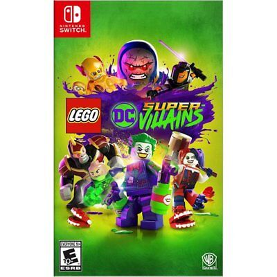 Lego DC Super Villains (Nintendo Switch) Brand New Factory Sealed