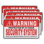 5Pcs Self-adhensive Camera CCTV Sticker Safty Signs Decal...
