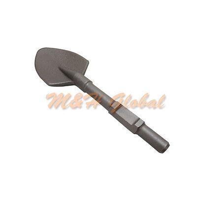 Clay Spade Scoop Shovel Bit Hex Shank 1-316 Chisel Spade Demolition Hammer
