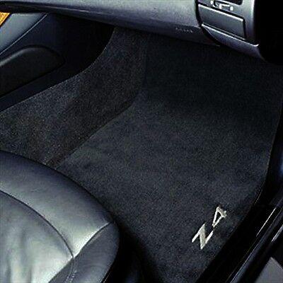 BMW OEM Black Carpet Floor Mats 2002-2008 Z4 2.5i 3.0si Roadster 82110152598