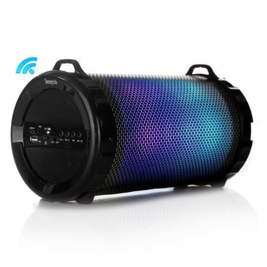 Pro-tubefx Slbsp18 Portable Bluetooth Boombox Speaker Rad...