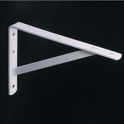 Knape & Vogt Utility Shelf L-Bracket KV 208 White Sizes: 12