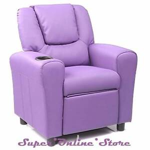 PU Leather Kids Children Recliner Lounge Chair Sofa with Drink Ho Bayswater Knox Area Preview