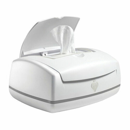 USED Prince Lion Heart premium Wipes Warmer White One Size Model 9002 w Adapter
