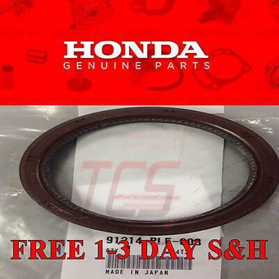 OEM HONDA INTEGRA B16A B20Z B18C1 B18C5 TYPE R CRANKSHAFT CRANK REAR MAIN SEAL