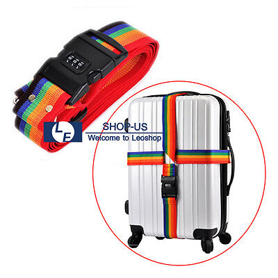 New Travel Suitcase Luggage Secure Password Code Lock