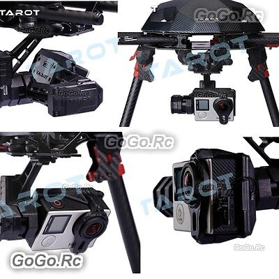 Tarot T4-3D 3-Axis Brushless Drone Gimbal For FPV Gopro Hero 4/3+/3 TL3D01