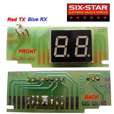 Channel Display Board Kit For Connex Galaxy North Star General Lee CB HAM