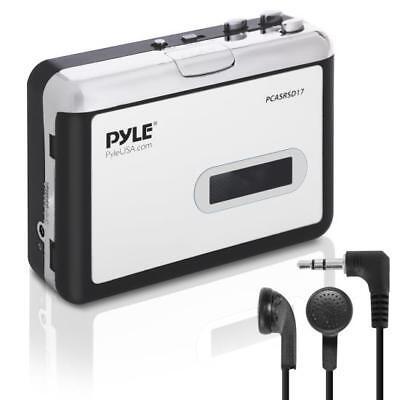 Pyle PCASRSD17 Cassette Tape to MP3 Converter Recorder - Tape Audio Digitizer