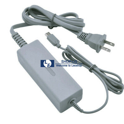 New AC Charger Power Supply Adapter for Nintendo Wii U Console Gamepad US Plug