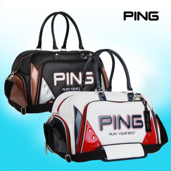 PING Golf Boston Bag Black White 18 Sporty GX Carry with sho