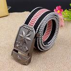 Mannen Canvas Alloy Buckle Belt Casual Duurzame Tactische...