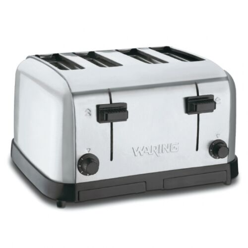 Waring WCT708 Commercial Heavy Duty 4 Slot Toaster 120 Volt  1 Year Warranty WOW