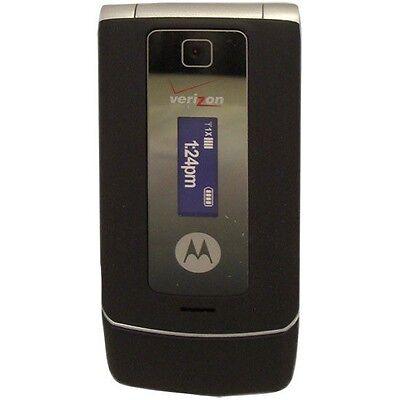 Glyde Phone - Verizon Motorola W385 Black/Silver Glyde Mock Dummy Display Toy Cell Phone