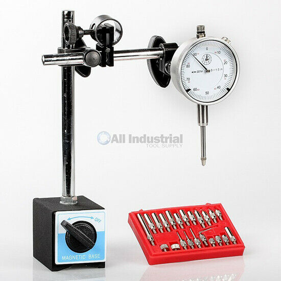 Dial Indicator, Magnetic Base & Point Precision Inspection Set