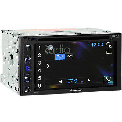 """Pioneer AVH-290BT Double DIN Bluetooth InDash DVD Car Stereo w/ 6.2"""" TouchScreen"""